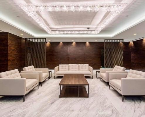 Majestic KOI in a VIP Lobby