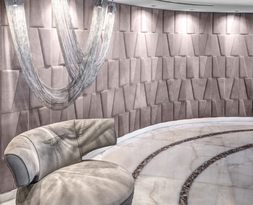 VOILE D in a luxury apartment