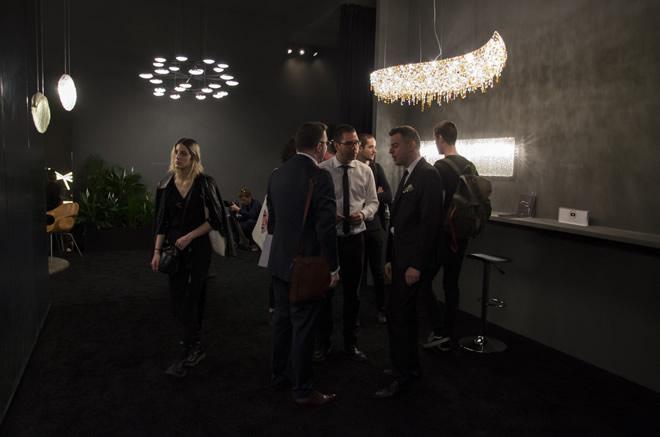 Euroluce 2017, Manooi Crystal Chandeliers