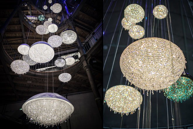 Home Depot 2014, Manooi Crystal Chandeliers