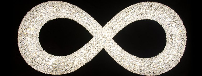 Infinity – the infinite glamour, Manooi Crystal Chandeliers