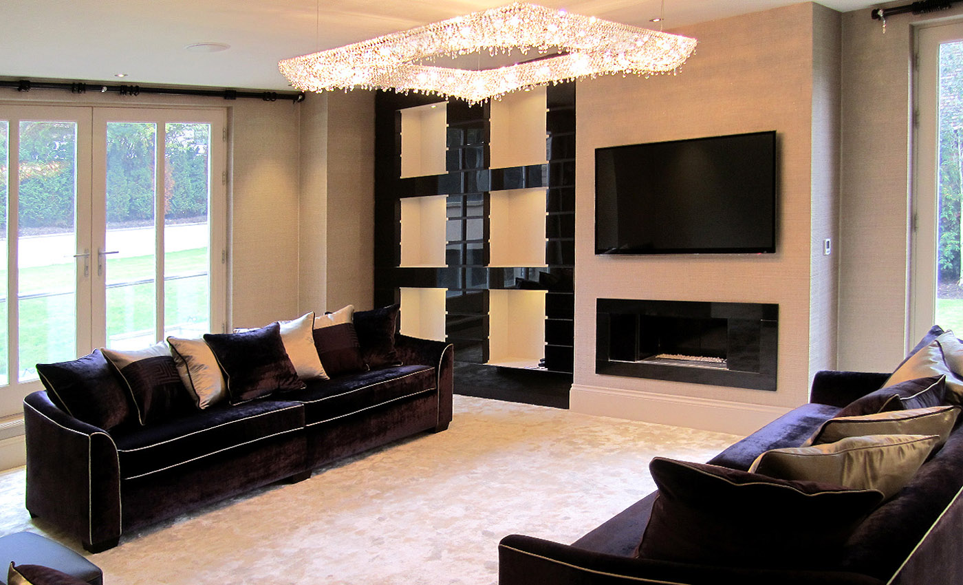 Koi in a project in the UK, Manooi Crystal Chandeliers
