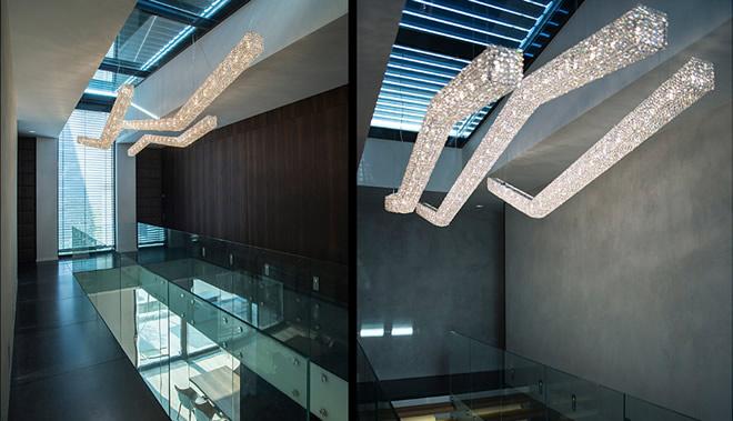Moha定制灯具, Manooi Crystal Chandeliers