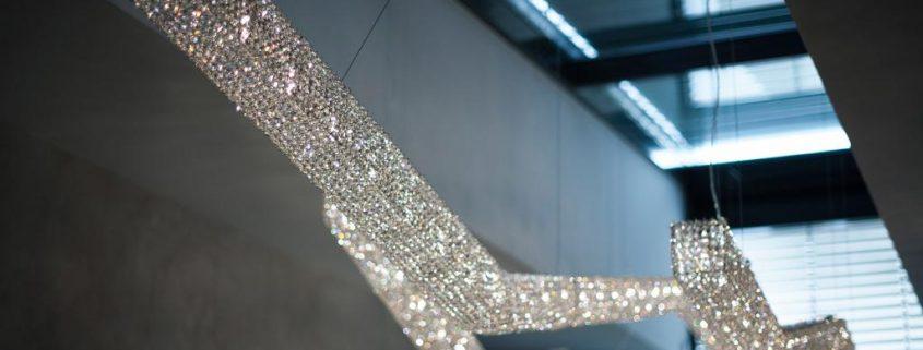 Moha bespoke luminaire, Manooi Crystal Chandeliers