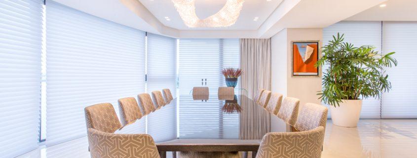 Luxury Building in Panama, Manooi Crystal Chandeliers