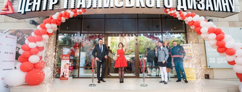 Ambassador's showroom opening, Manooi Crystal Chandeliers