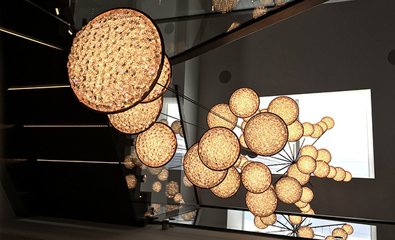 Manooi Chandeliers in Sweden, Manooi Crystal Chandeliers