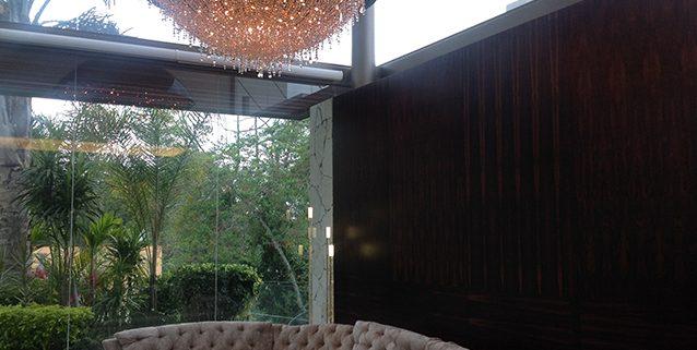 Ozero in a Mexican Villa, Manooi Crystal Chandeliers