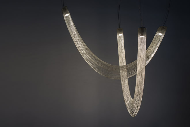 Voile D chandelier, Manooi Crystal Chandeliers
